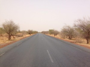 The road from Bamako to Kayes