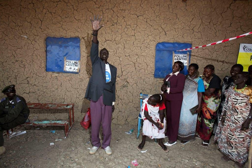 Voting for independence in 2011 in Malakal