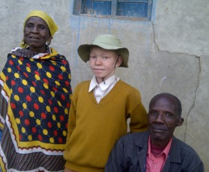 The Maasai boy Molle in 2014