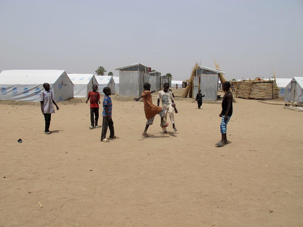 Gwoza soccer boys