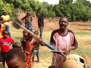 The village singer of Sabouciré