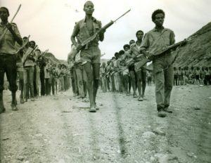 EPLF fighters in 1986 Photo Koert Lindijer