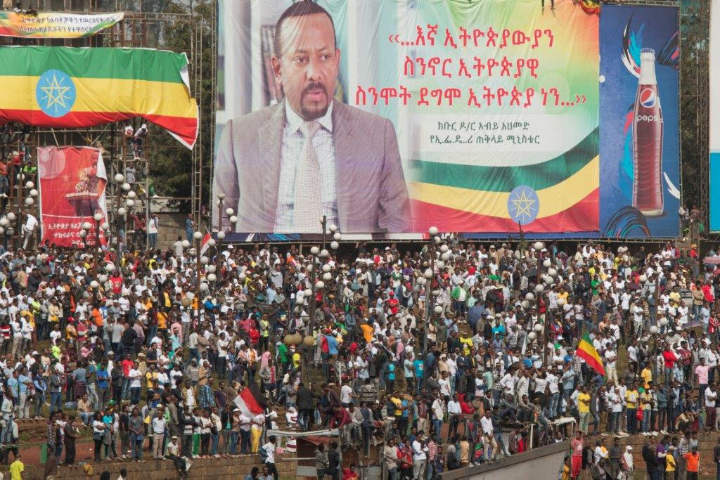 Rally in support of Abiy Ahmed(Photo Petterik Wiggers)