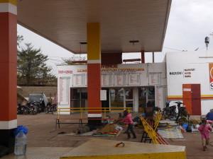 Sonef bus station in Bamako(Photo Ilona Eveleens)