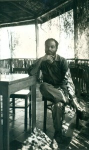 Guerrilla fighter Meles Zenawi in 1990 in Tigray. Photo Koert Lindijer